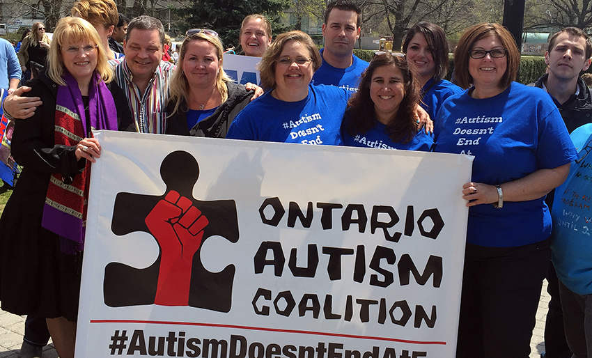 Sharon Gabison and the Ontario Autism Coalition