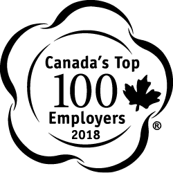 Canada's Top 100 Employers Badge