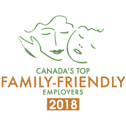 Canada's Top Family-Friendly Employers 2017 Badge