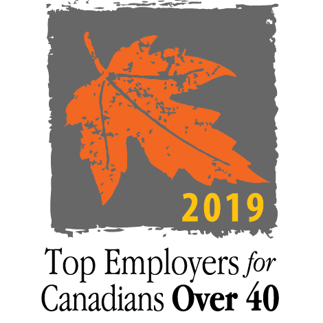 Top Employers for Canadians Over 40 Badge