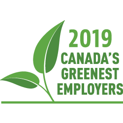 Canada's Greenest Employers Badge