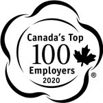 Canada's top employers badge